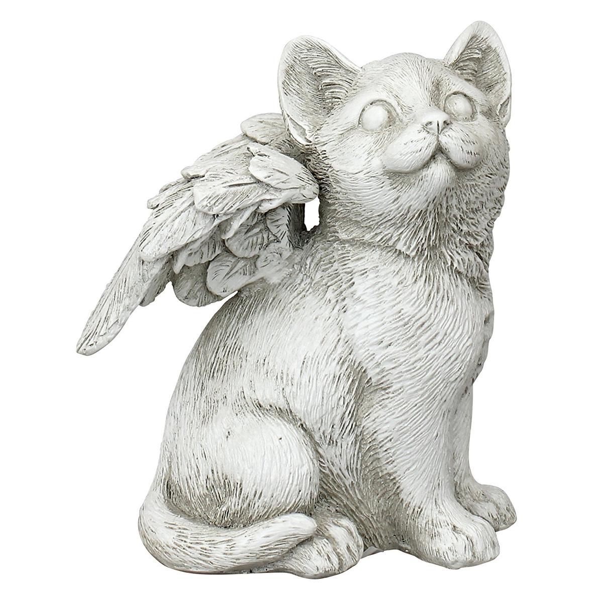 猫 ペット 動物 お墓 メモリアル グッズ 石 置き物 Mサイズ