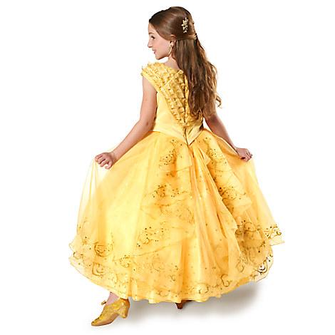 ディズニー コスチューム 子供 美女と野獣 ベル ドレス コスプレ 衣装 実写版 女の子 キッズ