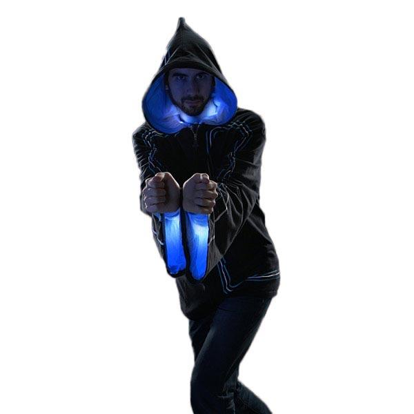 魔法使い 魔女 コスプレ 仮装 グッズ 小道具 ライトアップ ローブ パーカー モーションセンサー Technomancer