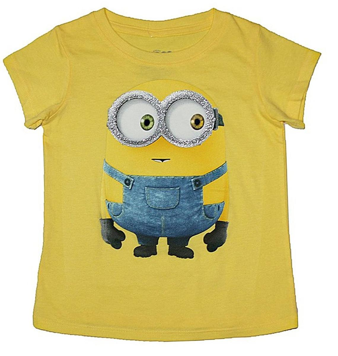 ミニオン Tシャツ 子供 黄色 ボブ キッズ キャラクター アパレル ファッション