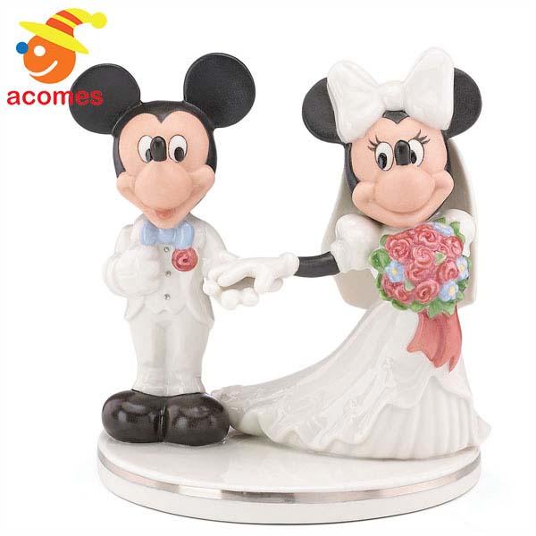 お祝い ギフト レノックス ミッキー & ミニー ケーキ トッパー 飾り ディズニー
