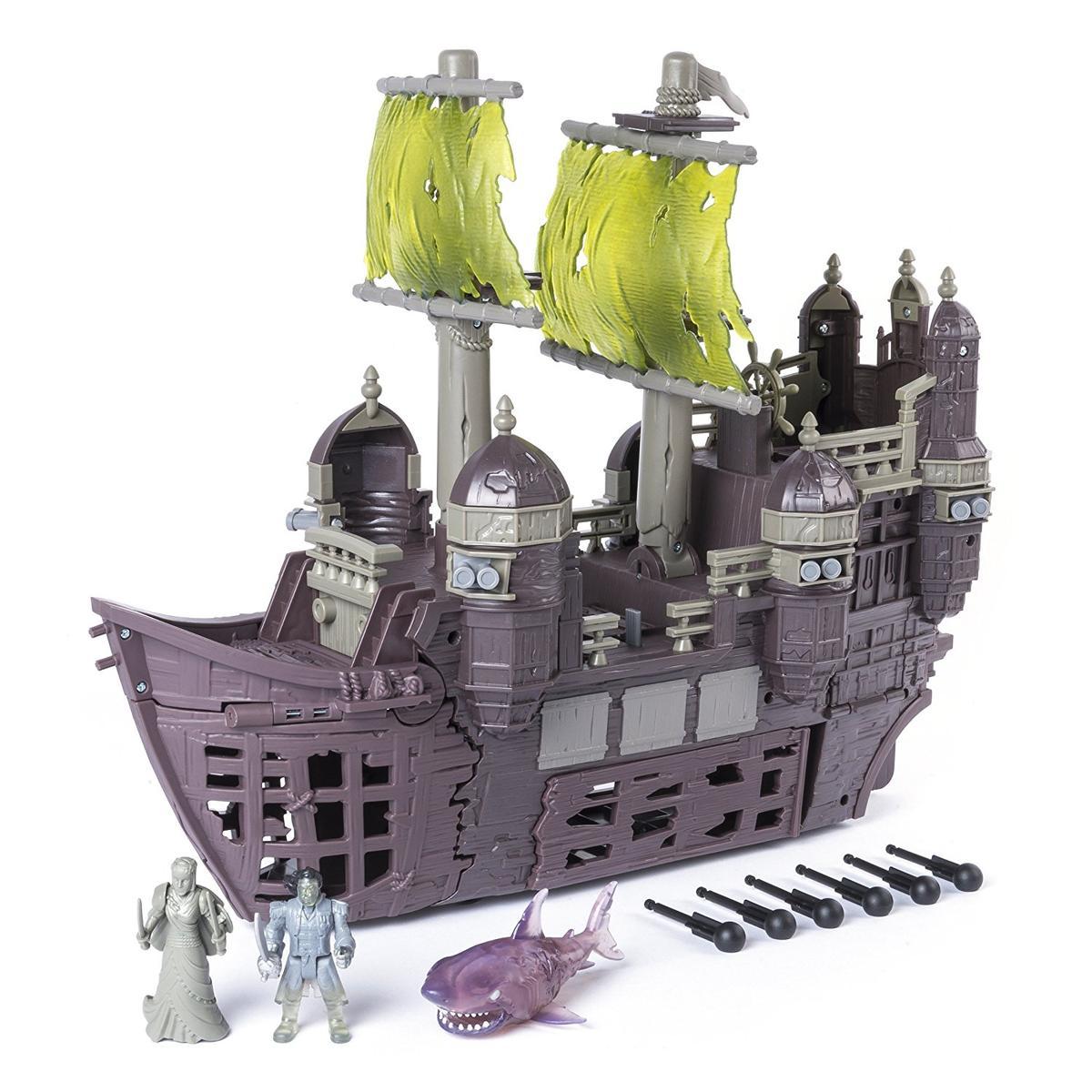 パイレーツ・オブ・カリビアン 最後の海賊 おもちゃ サイレント・メアリー号 フィギュア プレイセット 海外