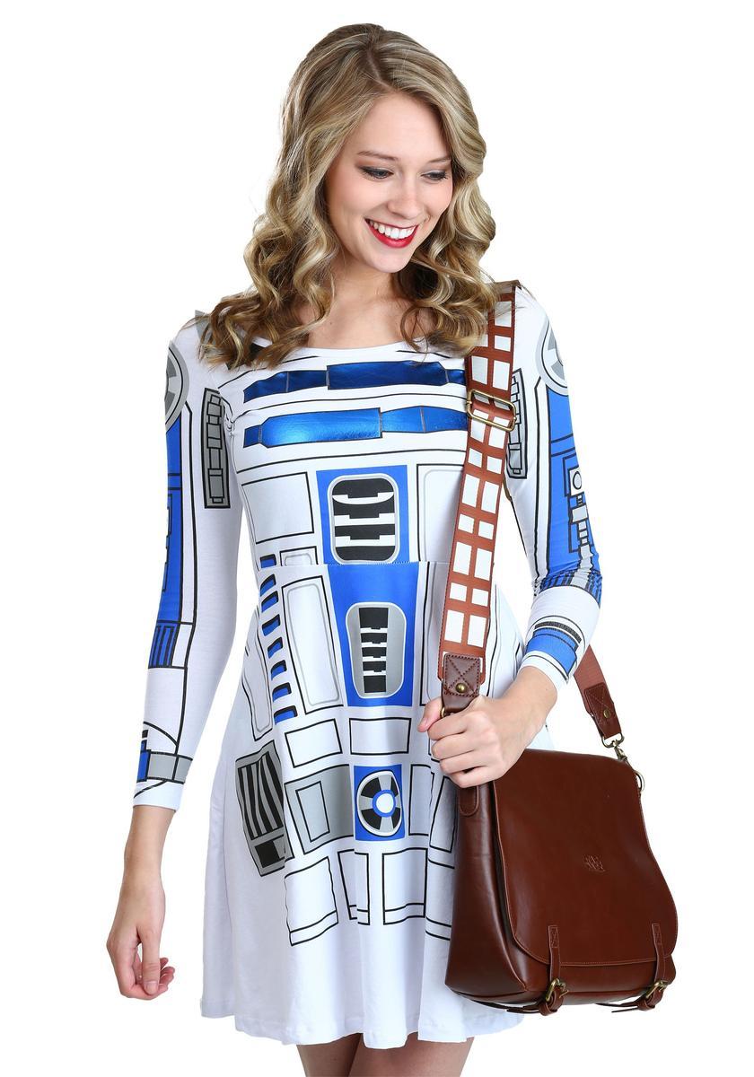 R2D2 ワンピース レディース 大人 女性用 スターウォーズ ファッション アパレル グッズ