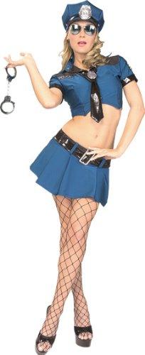 セクシー ポリス 警官 警察 大人 女性 海外 制服 衣装 へそ出し コスプレ 仮装 レディース コスチューム