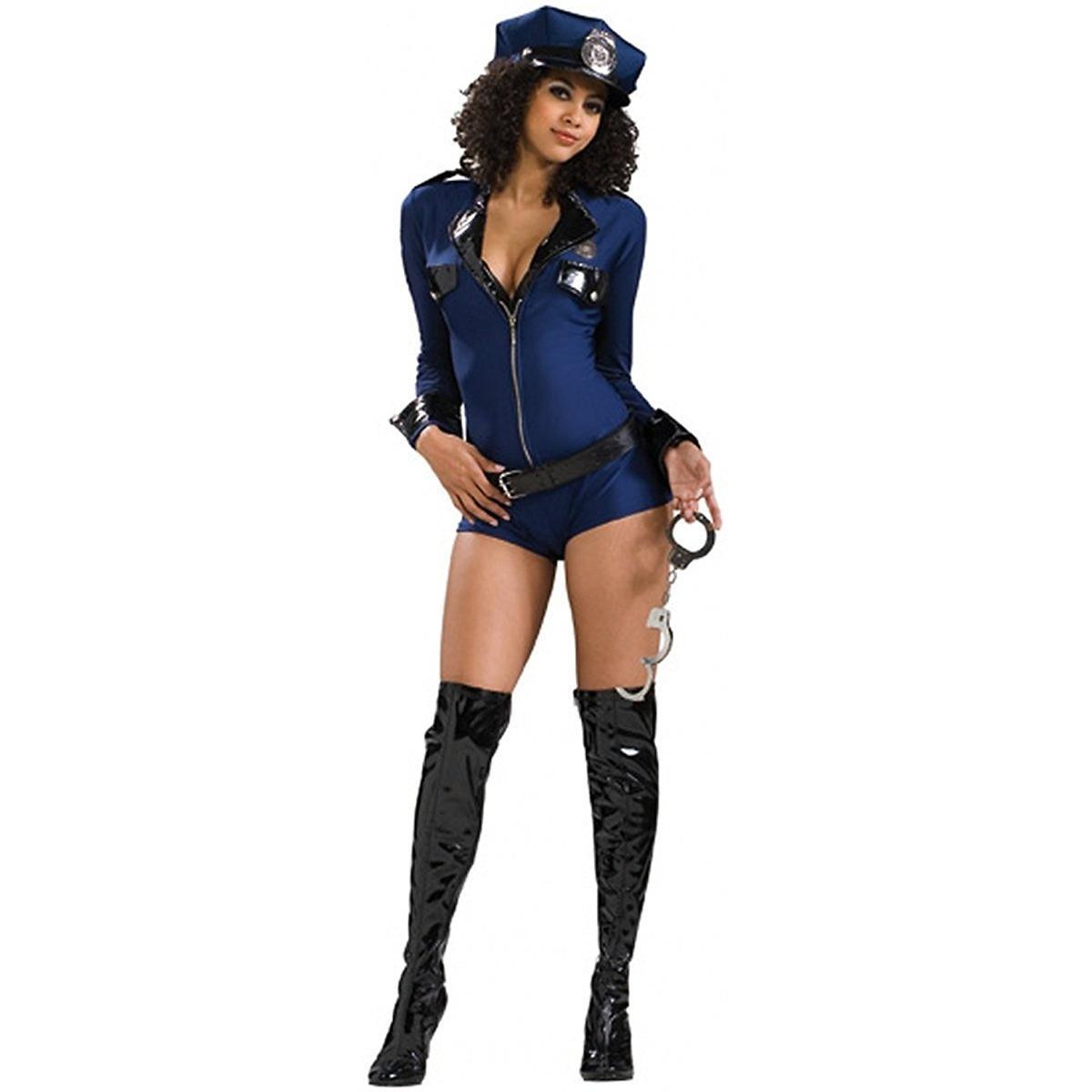 セクシー ポリス 警官 警察 大人 女性 海外 制服 衣装 ロンパース コスプレ 仮装 レディース コスチューム