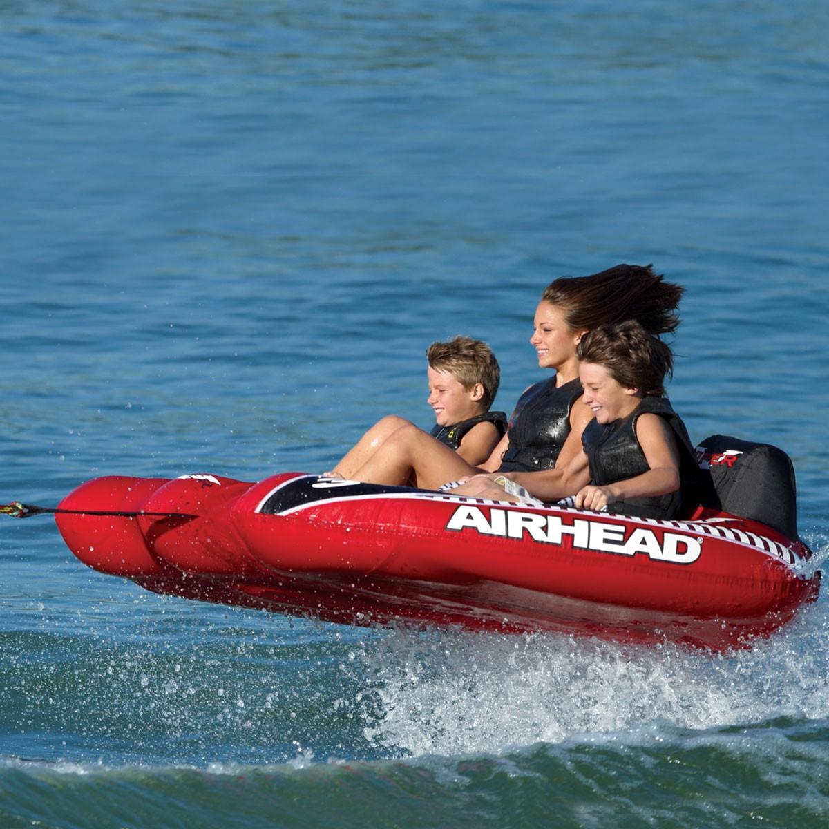 AIRHEAD トーイングチューブ Viper 3 3人乗り ジェットスキー マリンスポーツ 複数 グループ 海 おもちゃ ボート フロート グッズ