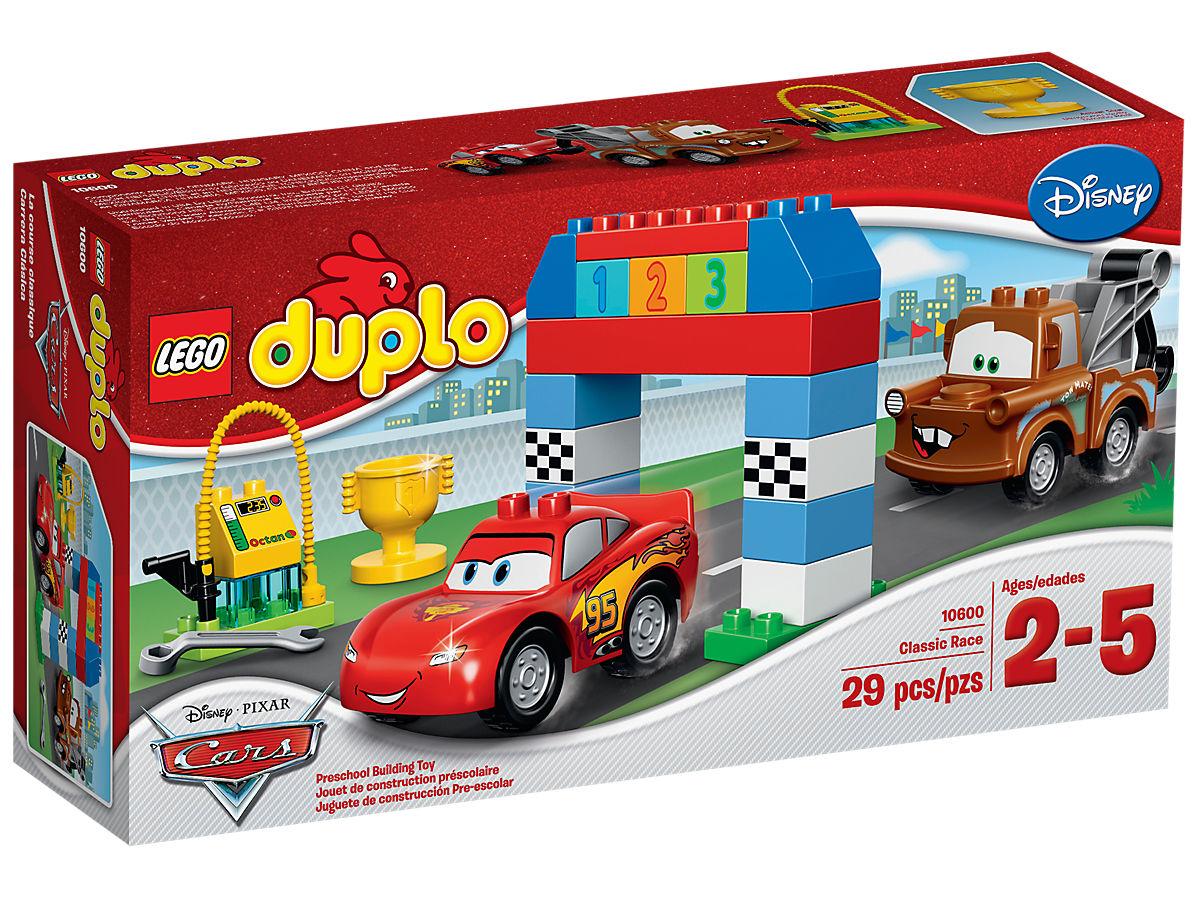 カーズ3 レゴ デュプロ 海外 ディズニー おもちゃ LEGO DUPLO 10600