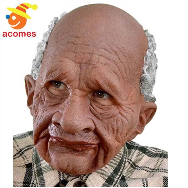 マスク 大人用 老人 南米 おじいさん 爺 じーさん 変装 ハロウィン イベント パーティー ジョーク グッズ