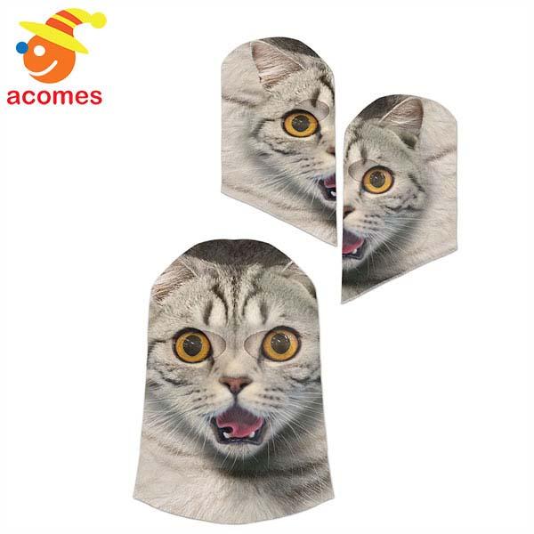 マスク 猫 ジョーク グッズ ハロウィン ネコ 動物 にゃんこ イベント パーティー
