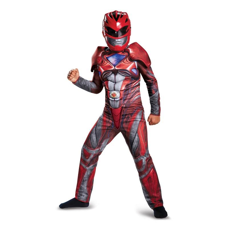 戦隊 スーツ 劇場版 パワーレンジャー コスプレ グッズ コスチューム レッドレンジャー 子供