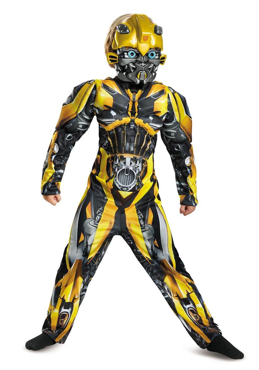 トランスフォーマー 最後の騎士王 グッズ バンブルビー コスチューム 子供 コスプレ 仮装 キッズ ロボット 映画