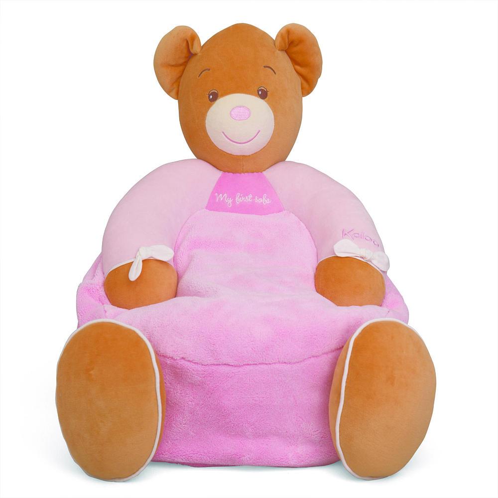 赤ちゃん ベビー 幼児 ソファ クマ 動物 ピンク