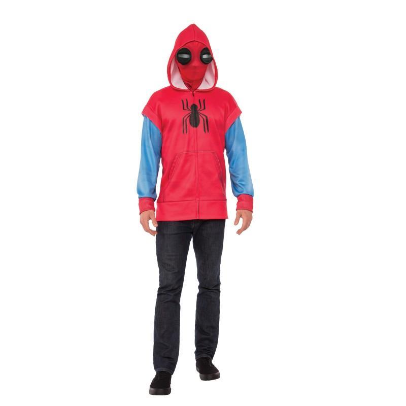 ハロウィン スパイダーマン ホームカミング コスプレ 仮装 グッズ コスチューム 大人 パーカー MARVEL アメコミ ヒーロー