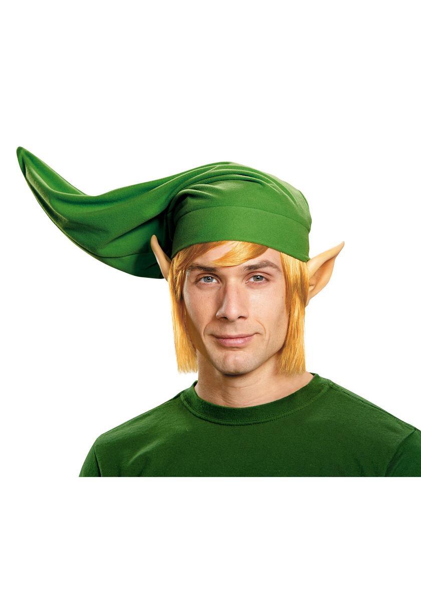 ゼルダの伝説 リンク コスプレ 仮装 衣装 帽子 耳 かつら セット 大人 ゲーム キャラクター テレビゲーム