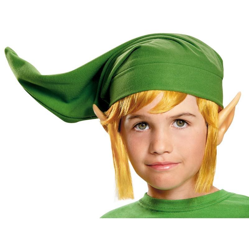 ゼルダの伝説 リンク コスプレ 仮装 衣装 帽子 耳 かつら セット 子供 ゲーム キャラクター テレビゲーム