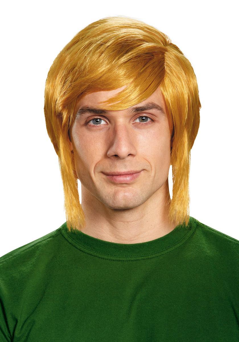 ゼルダの伝説 リンク コスプレ 仮装 ウィッグ かつら 金髪 大人 ゲーム キャラクター テレビゲーム