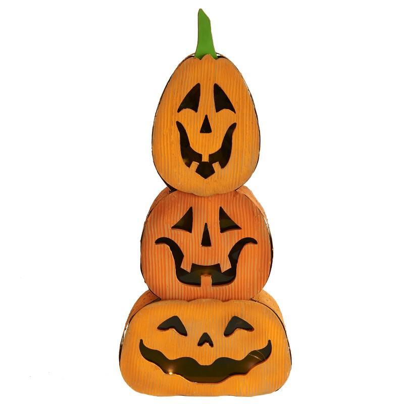 ジャック・オー・ランタン かぼちゃ ライト 照明 カバー ハロウィン デコレーション 装飾 飾り インテリア 用品