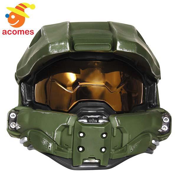 Halo ヘイロー マスターチーフ コスプレ ヘルメット ライトアップ 子供用 ハロウィン イベント パーティー