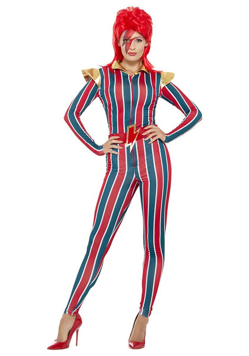デヴィッド・ボウイ 衣装 コスチューム 80's 80年代 海外 ロックバンド ミュージシャン コスプレ 仮装 大人 レディース