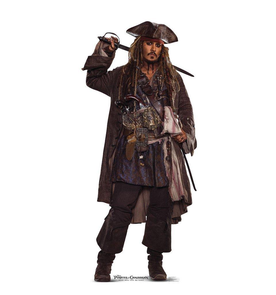 パイレーツ・オブ・カリビアン 最後の海賊 グッズ ジャックスパロウ 等身大パネル インテリア 室内 飾り 装飾 デコレーション