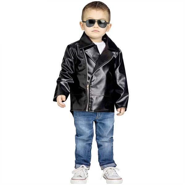 50s ロックンロール コスプレ 幼児 子供 ジャケット ダンス グリース コスプレ ハロウィン イベント パーティー