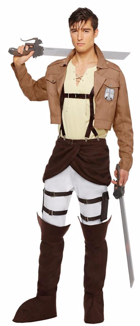 進撃の巨人 コスプレ コスチューム 衣装 エレン・イェーガー 大人 メンズ 仮装 グッズ