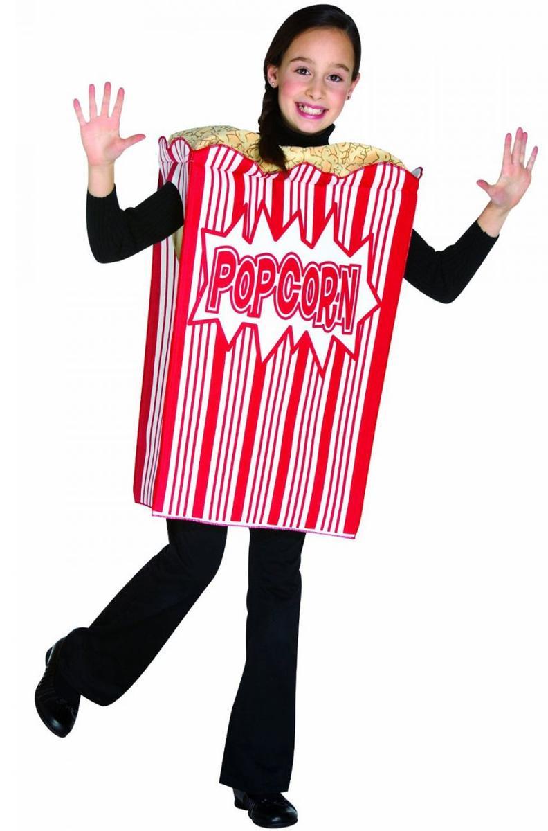 子供 コスチューム ポップコーン 食べ物 コスプレ 仮装
