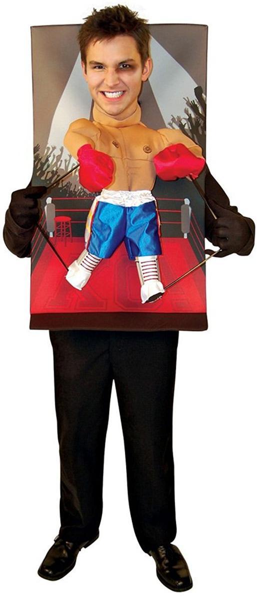 おもしろコスプレ ボクサー パペット 顔ハメ 面白い コスチューム コスプレ 仮装 大人