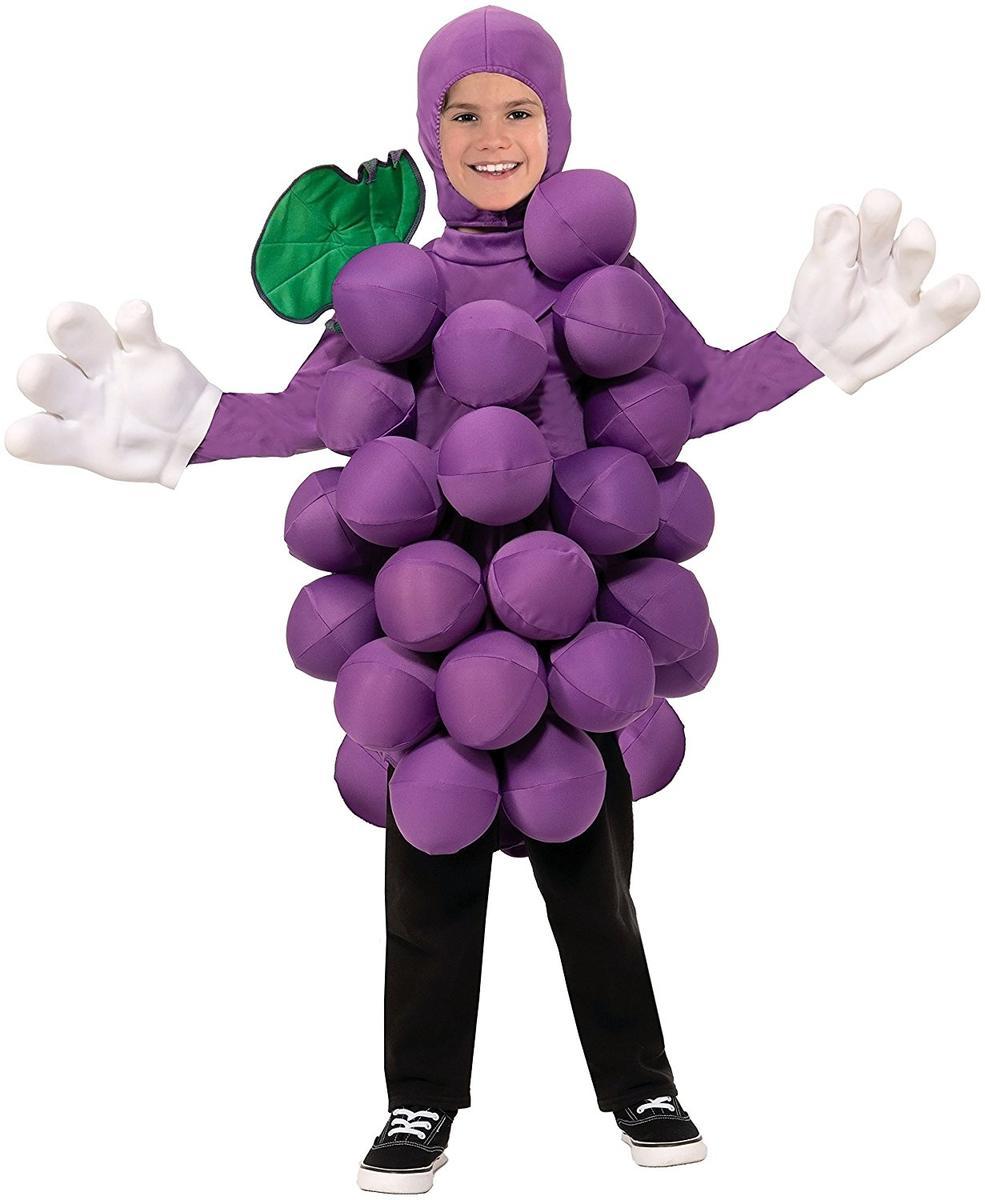 ハロウィン 子供 コスチューム ぶどう グレープ 食べ物 フルーツ 果物 コスプレ 仮装 キッズ