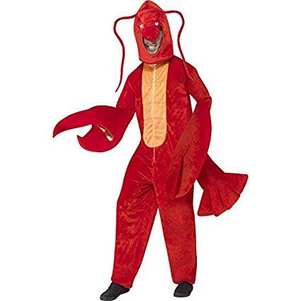 ロブスター 着ぐるみ コスチューム 大人 コスプレ 仮装 生き物 シーフード ザリガニ エビ