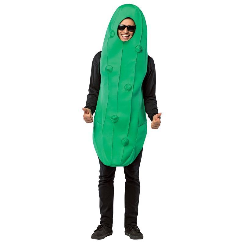 おもしろコスプレ ピクルス きゅうり コスチューム 着ぐるみ 大人 食べ物 野菜 コスプレ 仮装