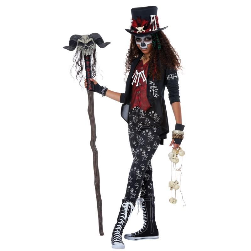 ブードゥー教 コスチューム キッズ 子供 コスプレ 仮装 ハロウィン 魔法使い 宗教