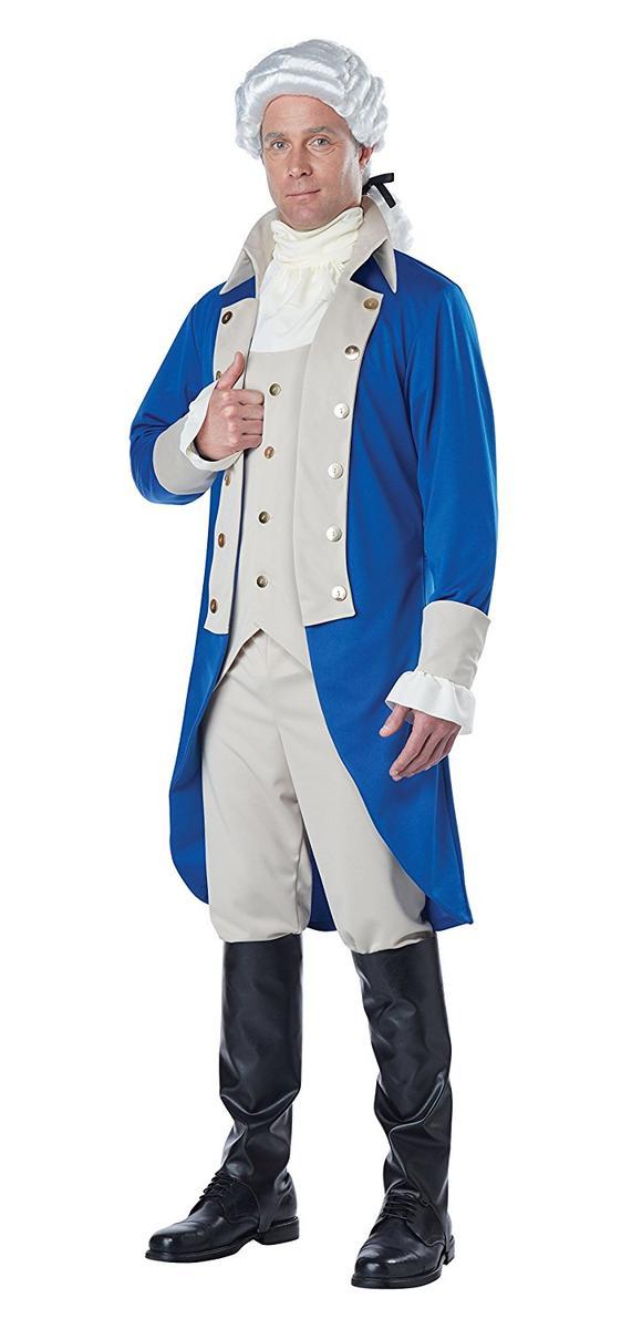 日本に ジョージ 大統領・ワシントン コスチューム 大人 California メンズ Costumes メンズ コスプレ 仮装 California アメリカ 大統領, Echo:e12c8e01 --- mail.hitlerdenim.com