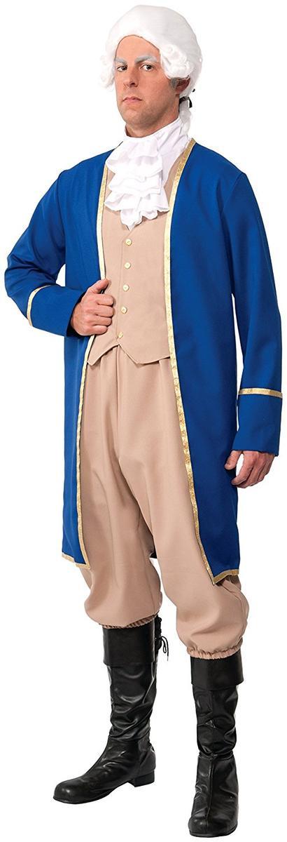 ジョージ・ワシントン コスチューム 大人 Forum Novelties メンズ コスプレ 仮装 アメリカ 大統領