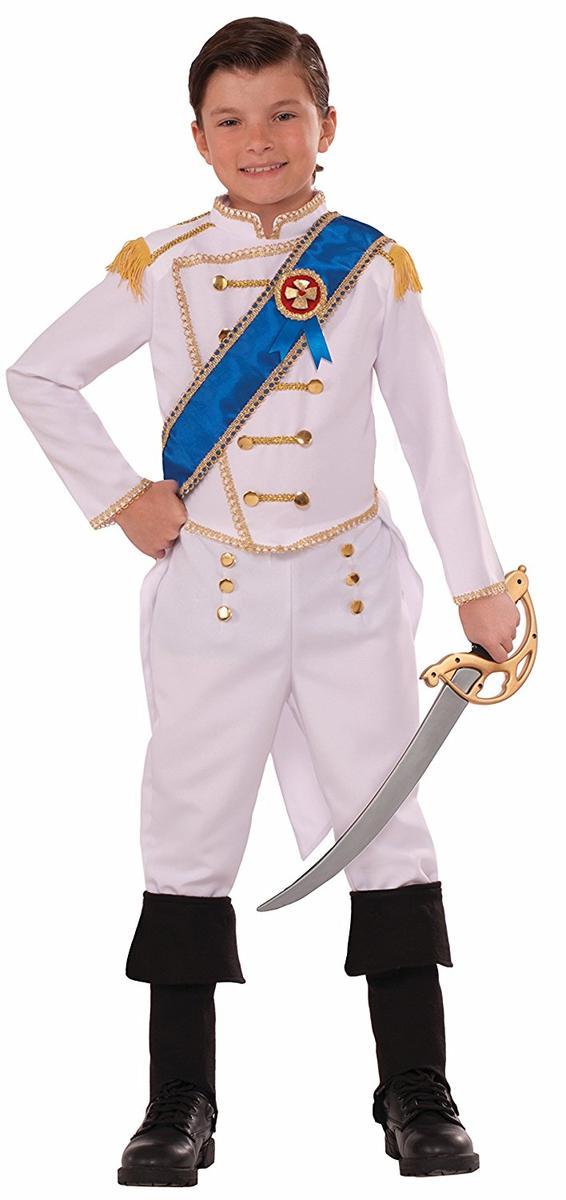 王子様 衣装 コスチューム 子供 白 ホワイト プリンス キッズ コスプレ 仮装