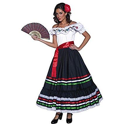 フラメンコ コスチューム ドレス スペイン コスプレ 仮装 レディース 衣装