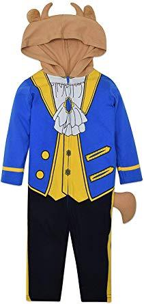 王子様 美女と野獣 ビースト 衣装 コスチューム 幼児 赤ちゃん ベビー ジャンプスーツ