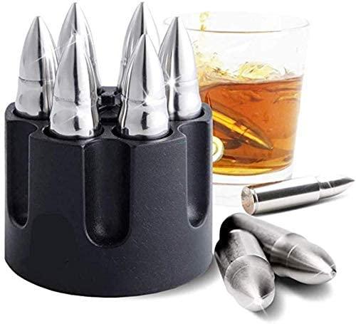 通常便なら送料無料 セール特別価格 銃弾風ドリンクの冷えを保つグッズ 溶けない氷 銃弾 弾倉 バー ドリンク セット カクテル ブランド品 グッズ