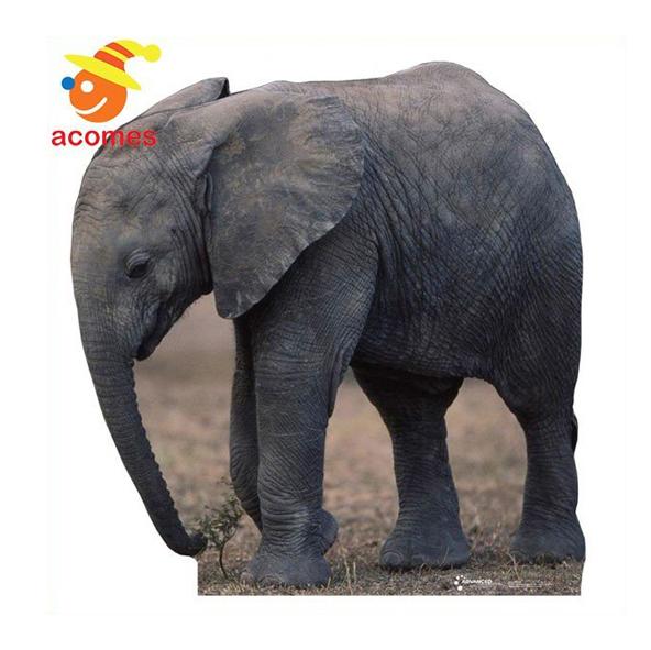 ゾウ パネル リアル 動物 象 立て 看板 動物園 イベント 飾り