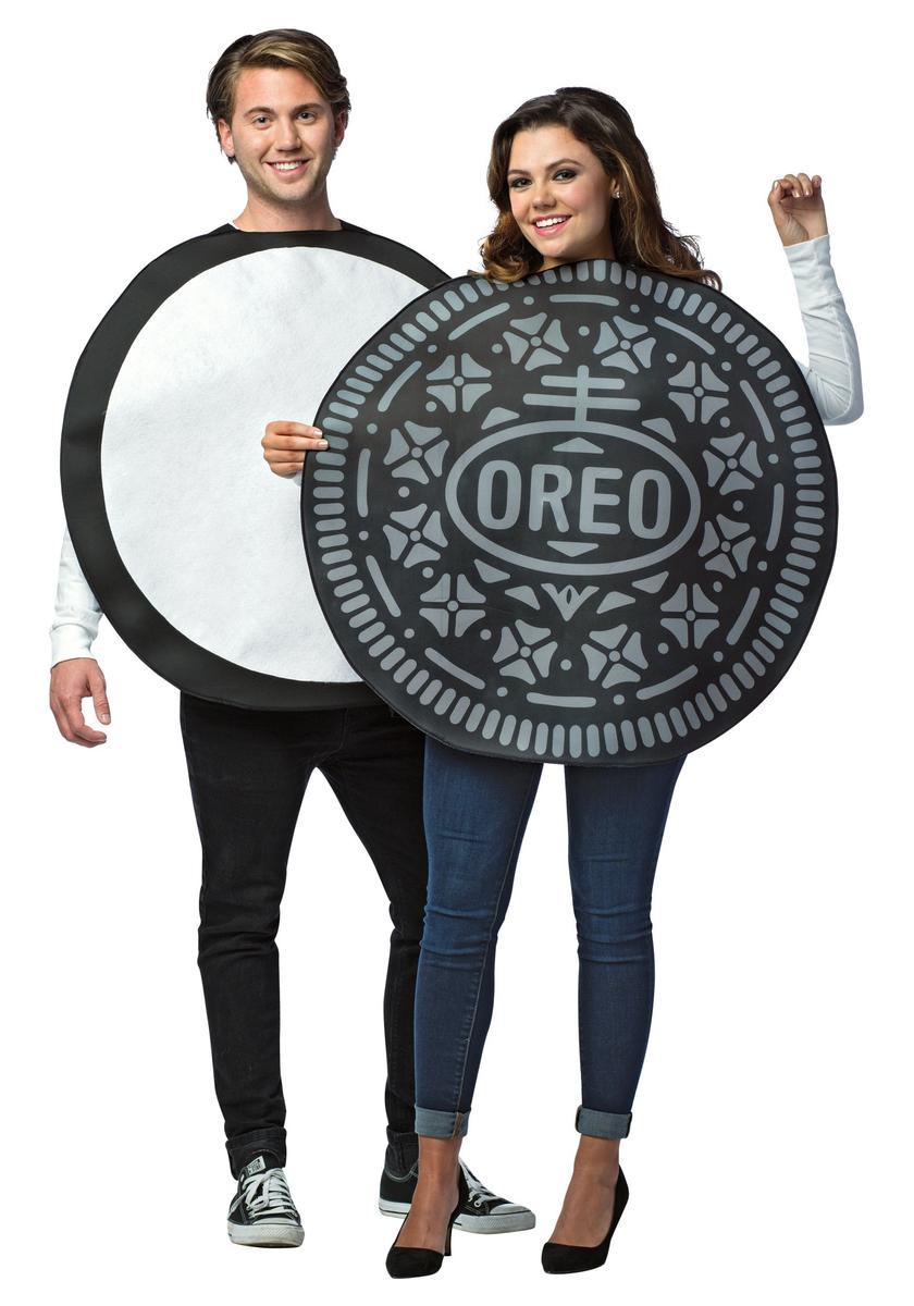 おもしろコスプレ オレオ カップル ペア コスチューム セット 大人 食べ物 お菓子 仮装