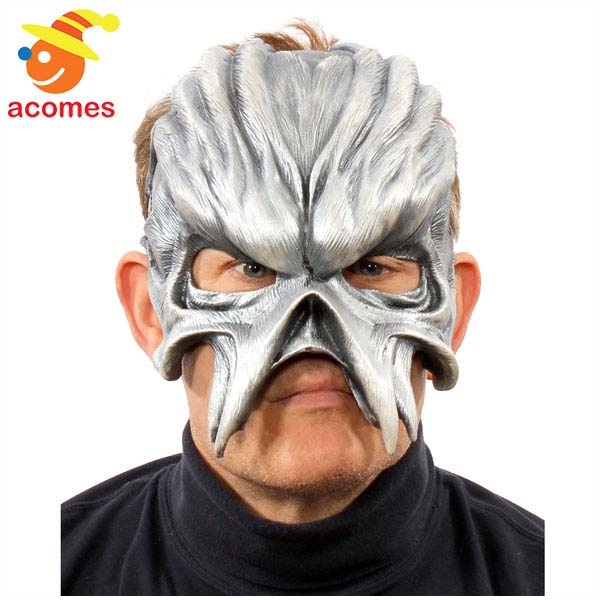 マスク メタルヘッド エイリアン 大人用 変装 変身 外骨格 ハロウィン イベント パーティー