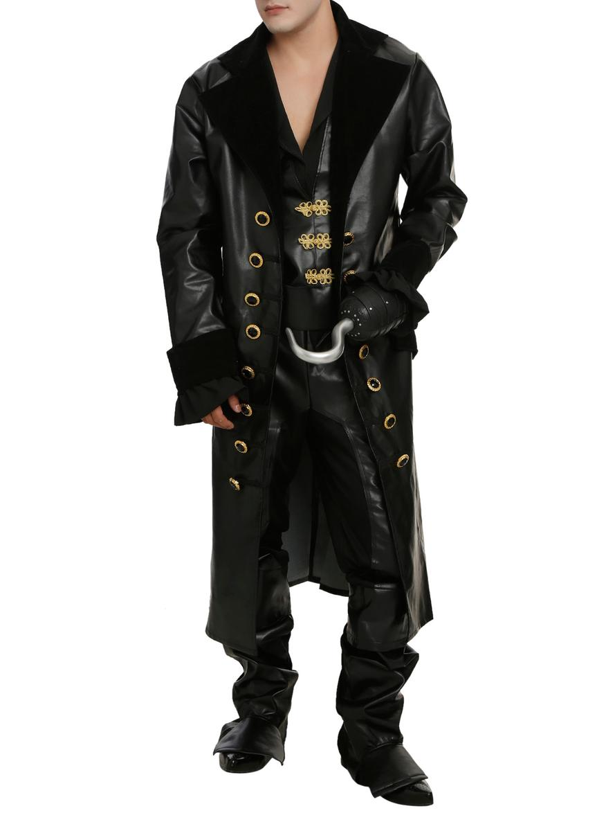 ディズニー コスチューム 大人 フック船長 ワンス・アポン・ア・タイム コスチューム 大人 メンズ コスプレ 仮装 衣装