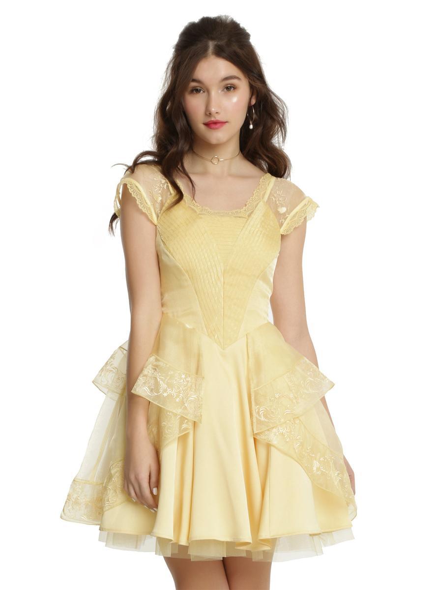 ディズニー プリンセス コスチューム 大人 美女と野獣 ベル ドレス レディース コスプレ 仮装 衣装