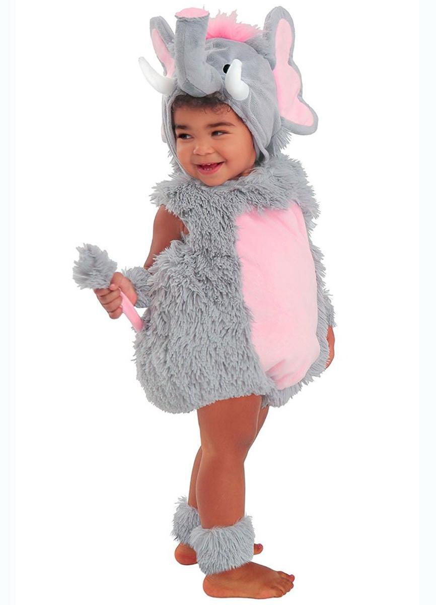 赤ちゃん 幼児 きぐるみ コスチューム ゾウ 動物 コスプレ 仮装