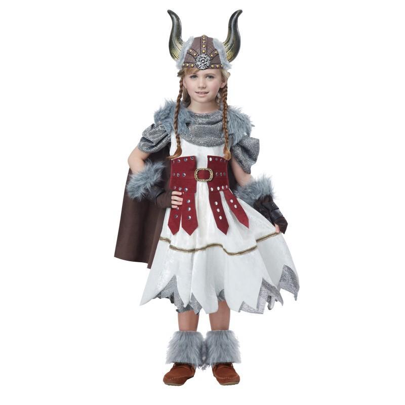 ヴァイキング コスチューム 女の子 子供 キッズ バイキング 海賊 衣装