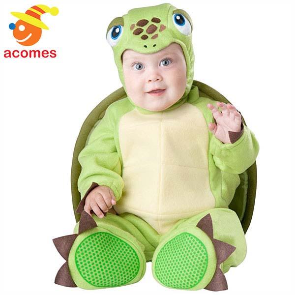 カメ コスプレ ベビー 幼児 コスチューム ハロウィン 衣装 動物 着ぐるみ イベント パーティー 亀 タートル 記念写真
