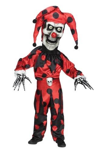 ジェスター ピエロ バブルヘッド 着ぐるみ 悪魔 コスチューム 衣装 子供 コスプレ 仮装
