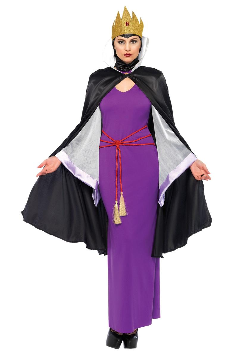 白雪姫 コスプレ 女王 コスチューム ディズニー ヴィランズ 衣装 大人 レディース 仮装