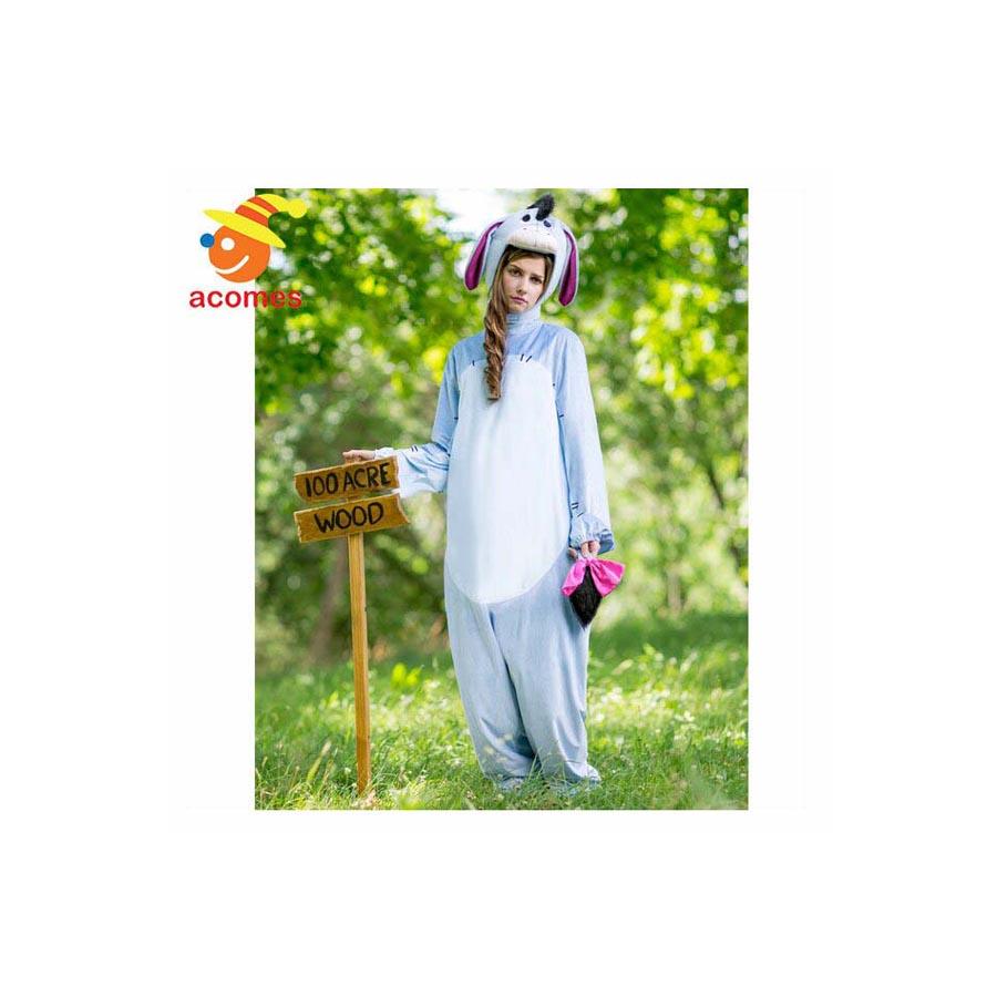 イーヨー 大人 着ぐるみ コスチューム ハロウィン 衣装 クマのプーさん イベント パーティー