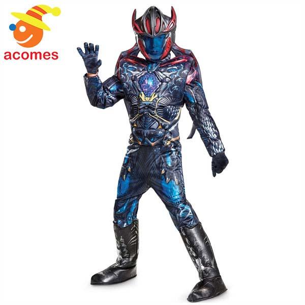 戦隊 スーツ 劇場版 パワーレンジャー メガゾード コスプレ 子供 コスチューム ハロウィン なりきり 衣装 イベント 仮装 パーティー